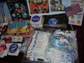 Materiały reklamowe z NASA