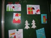 Kartki świąteczne wykonane przez polskich uczniów