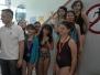 Drugie miejsce w zawodach pływackich
